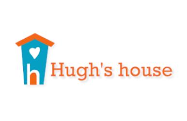 Hugh's house logo