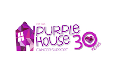 Purple House Cancer Support Logo